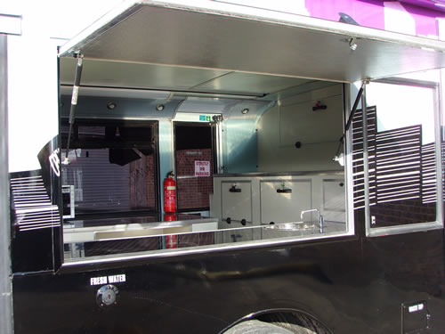 Volvo Alexander Mobile Homeless Shelter and Kitchen